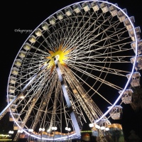 Nice Eye : The giant ferris wheel, Nice , France