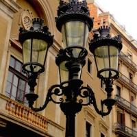 Barcelona Street Lights, Spain