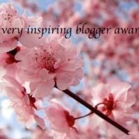 Very inspiring blogger award...